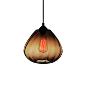 Brown Twister – Luminosa Lighting