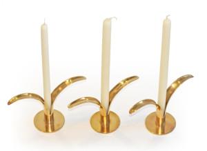 Ivar Bjork 'Lily' Candleholders