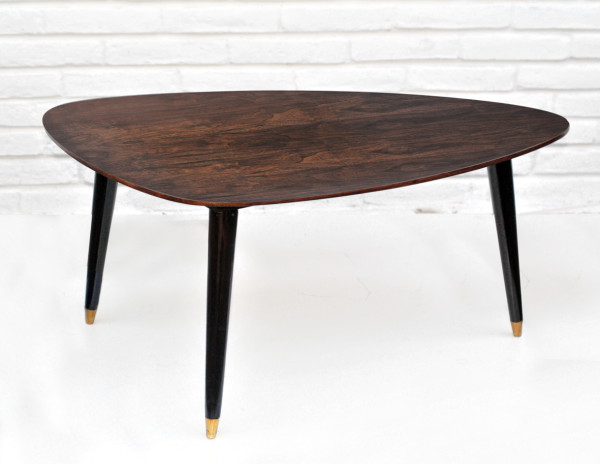 Mid Century Tripod Side Tables