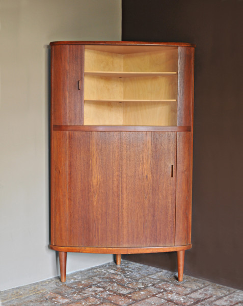 Teak Corner Cabinet by Skovmand and Andersen