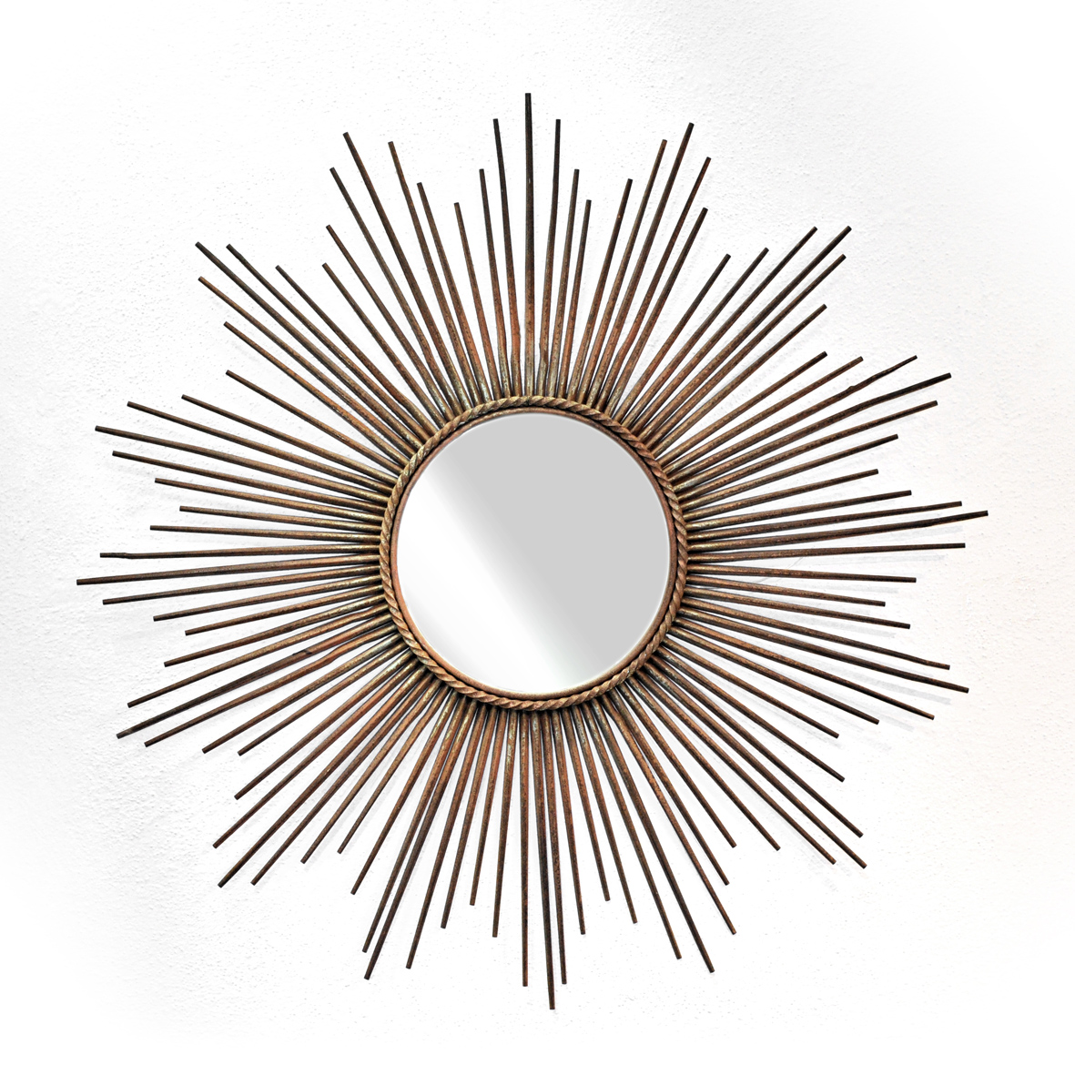Sunburst mirror by chaty of vallauris per seper se for Chaty vallauris miroir